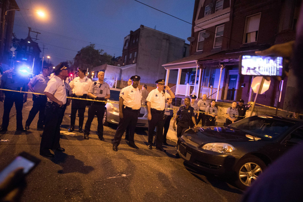 Man charged after six police officers shot in Philadelphia