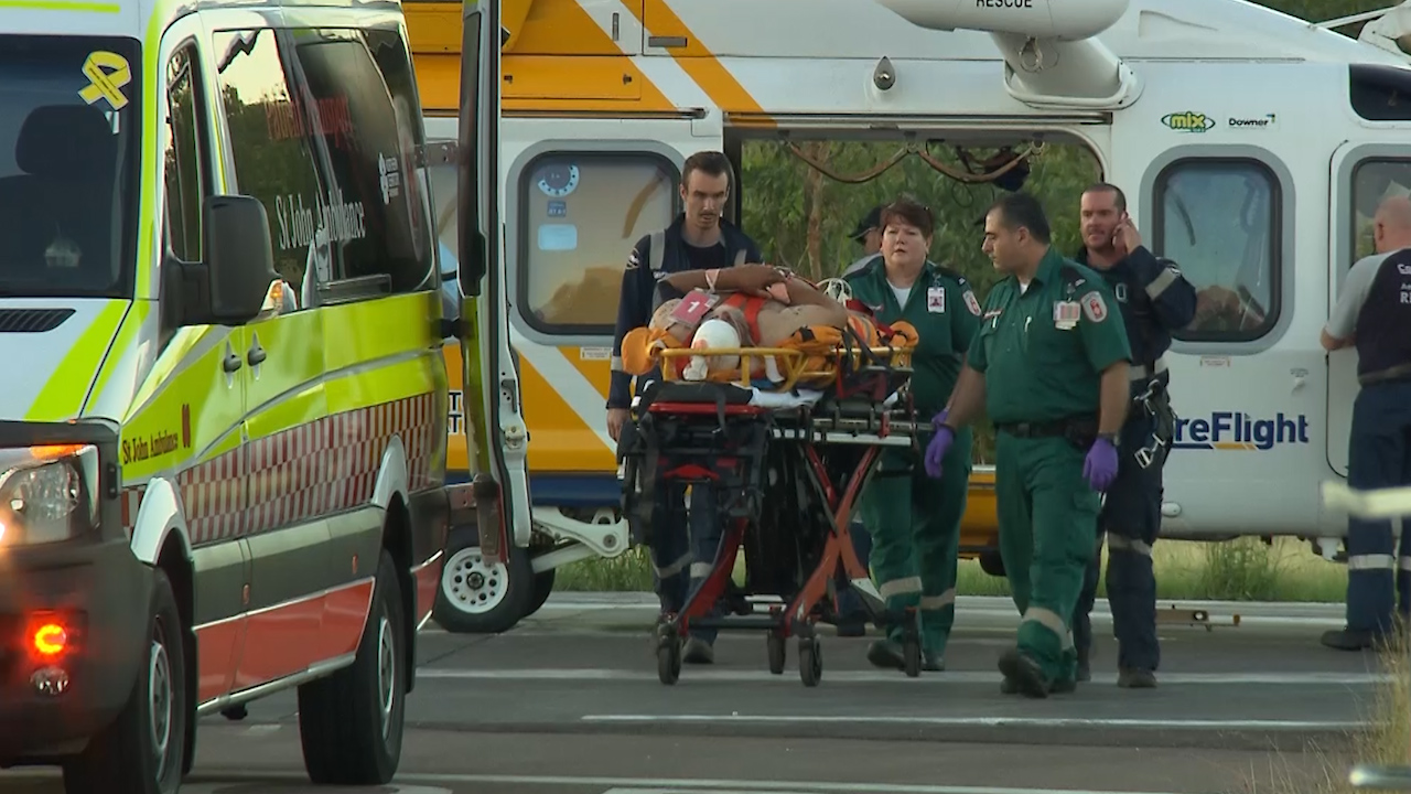 Three people taken to Darwin hospital after helicopter crashes in Kakadu National Park