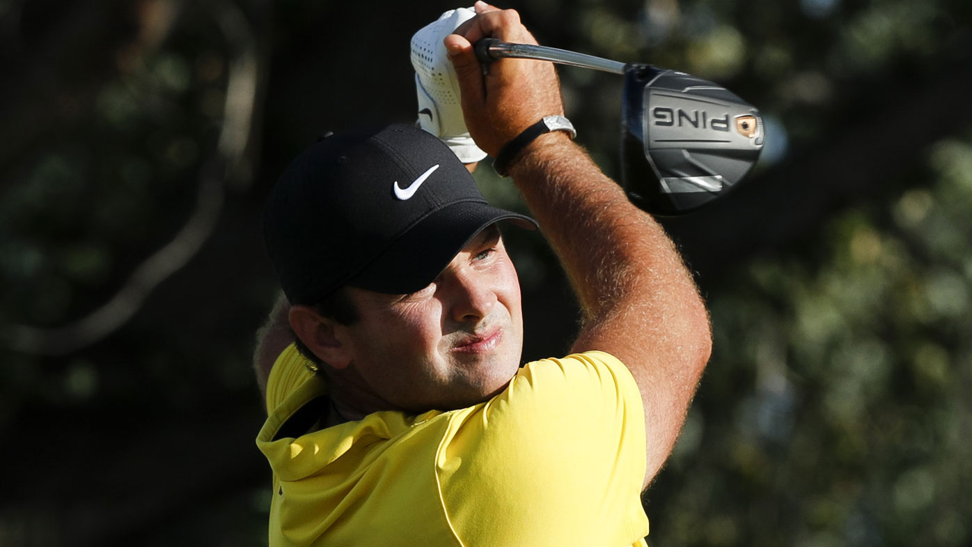 Patrick Reed during the third round of the Northern Trust in New Jersey