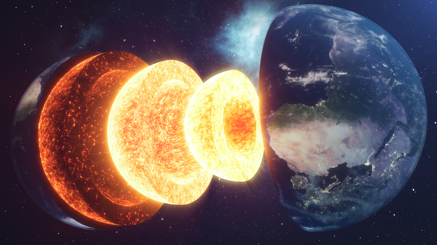 Earth's crust might be peeling in two