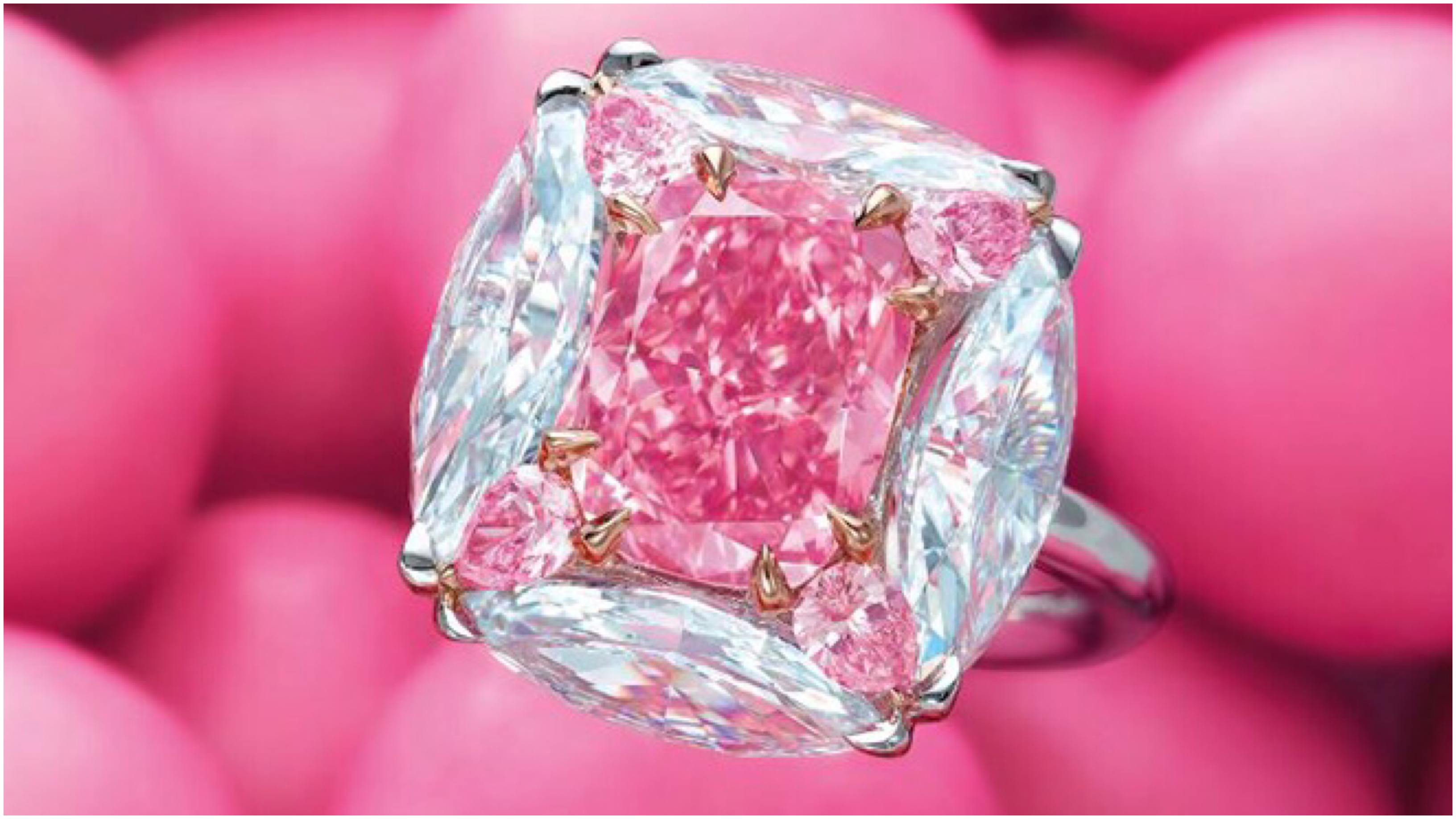 Known for its bubblegum pink appearance, the 'Strongest Pink' gem was one of the premier lots sold during the Magnificent Jewels event held regularly by the famed auction house.