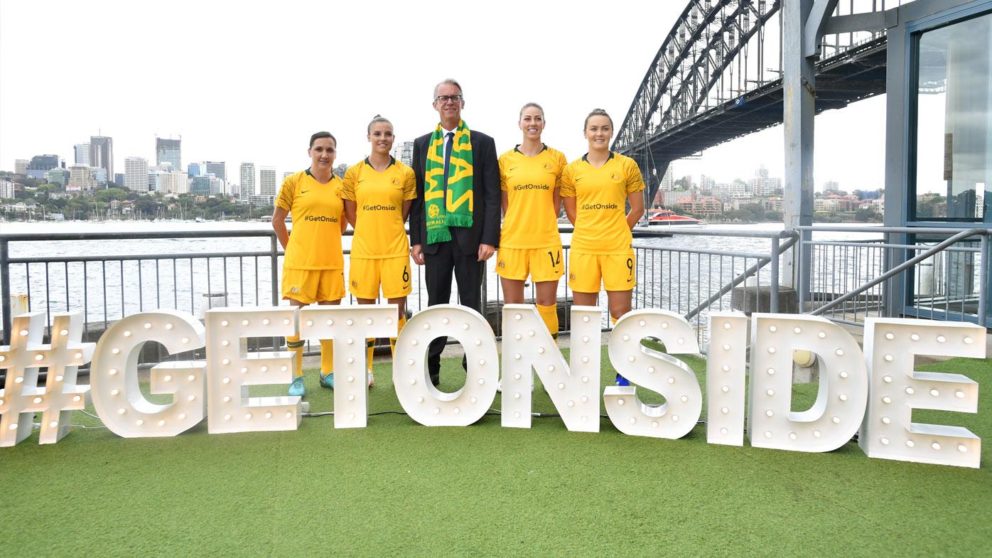 Matildas launch World Cup bid
