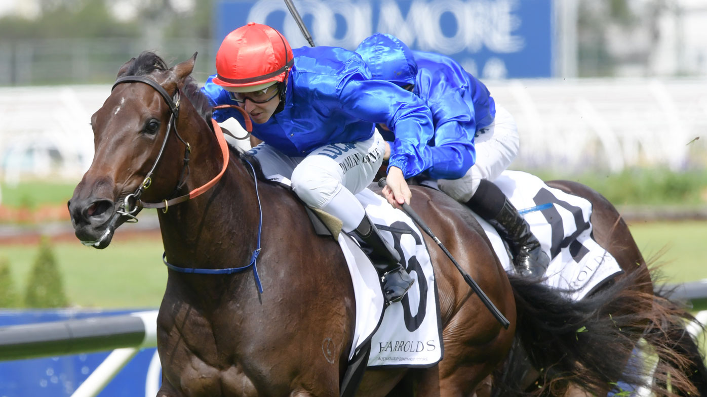 Winx triumphs in penultimate race, extends winning streak