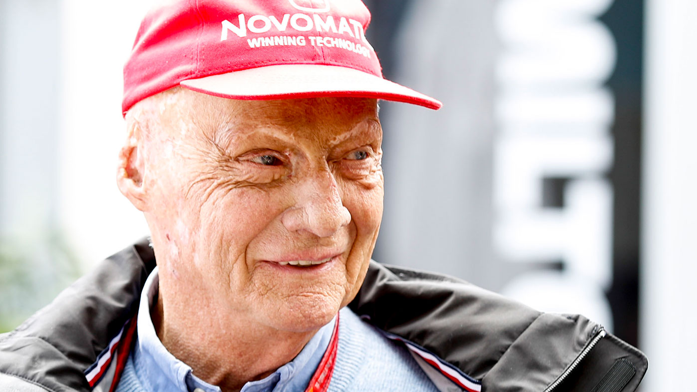 Formula One world champion Niki Lauda dies aged 70