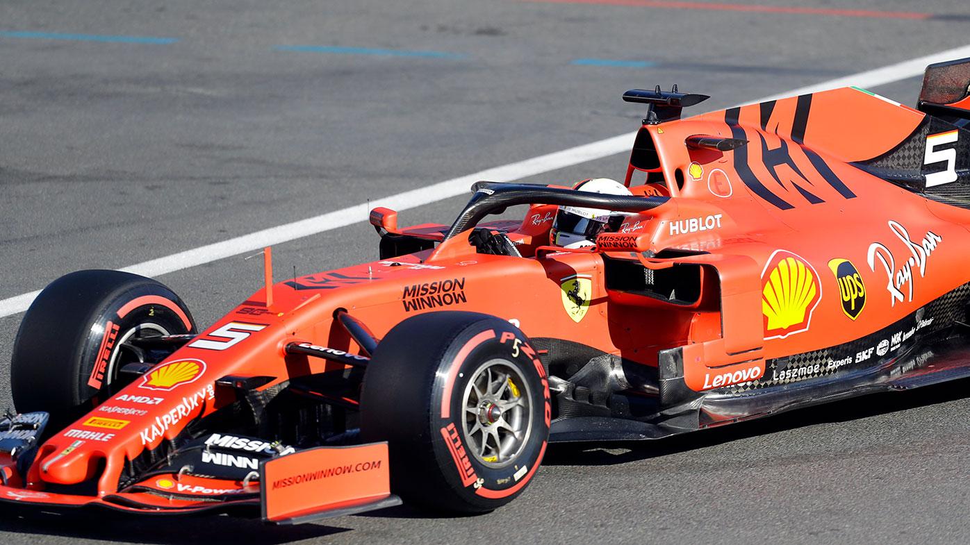 Sebastian Vettel finished third in Baku.