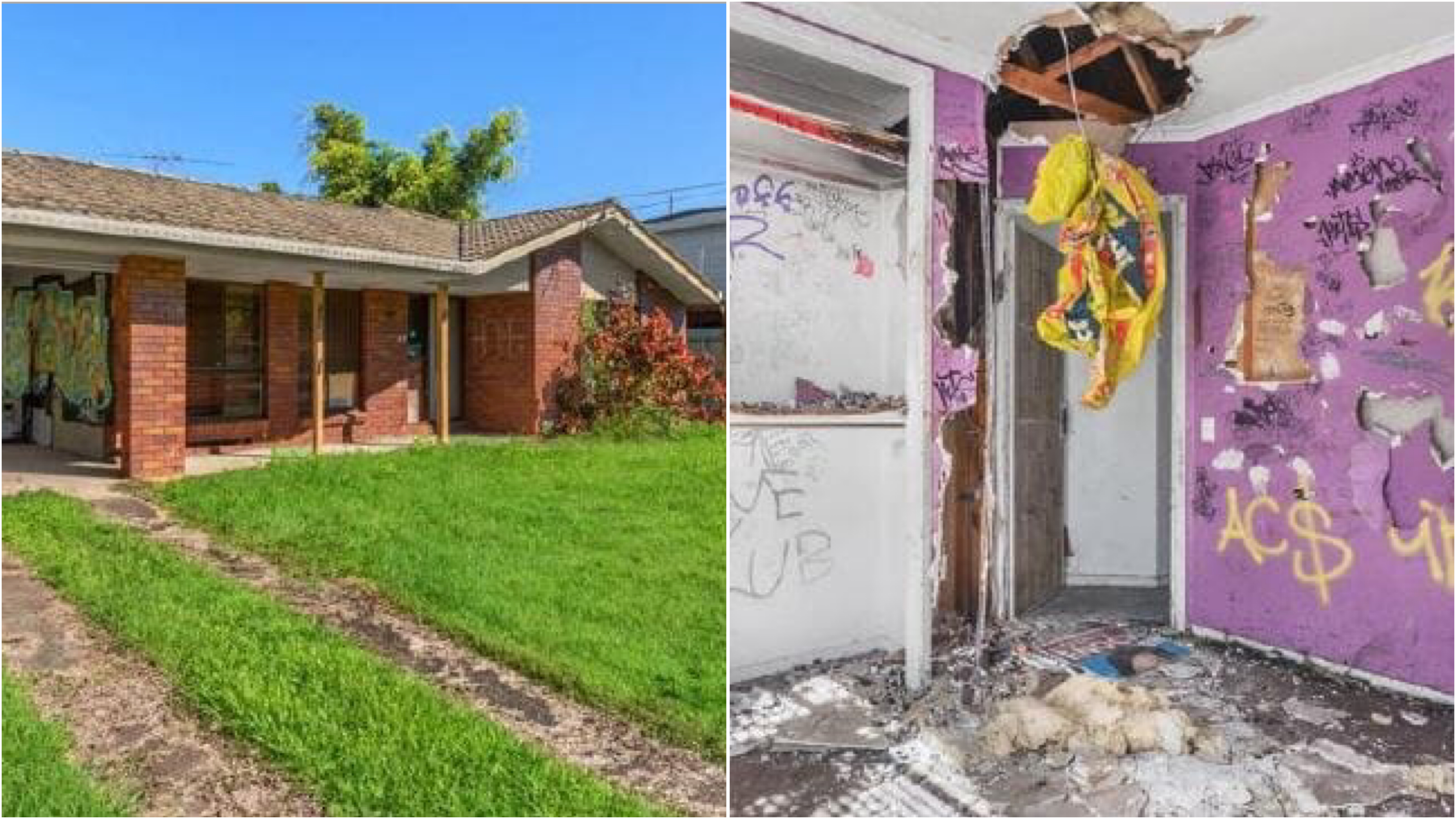 Brisbane's worst house for sale, but there's a catch