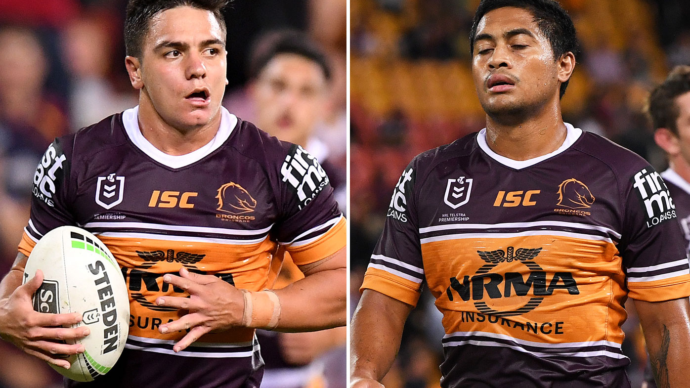Kodi Nikorima and Anthony Milford