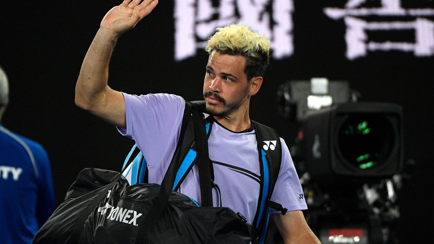 Australian Open: Alex Bolt bows out of Open at hands of ...