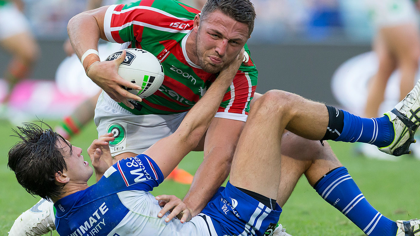 Burgess and Lewis clashed in their Good Friday game