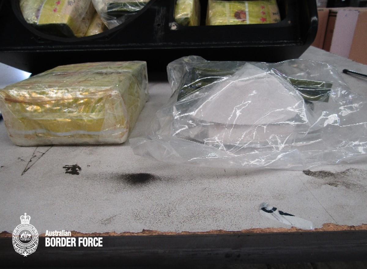 Largest amount of ice to reach Australia seized