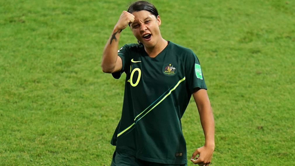 Sam Kerr four goals reaction