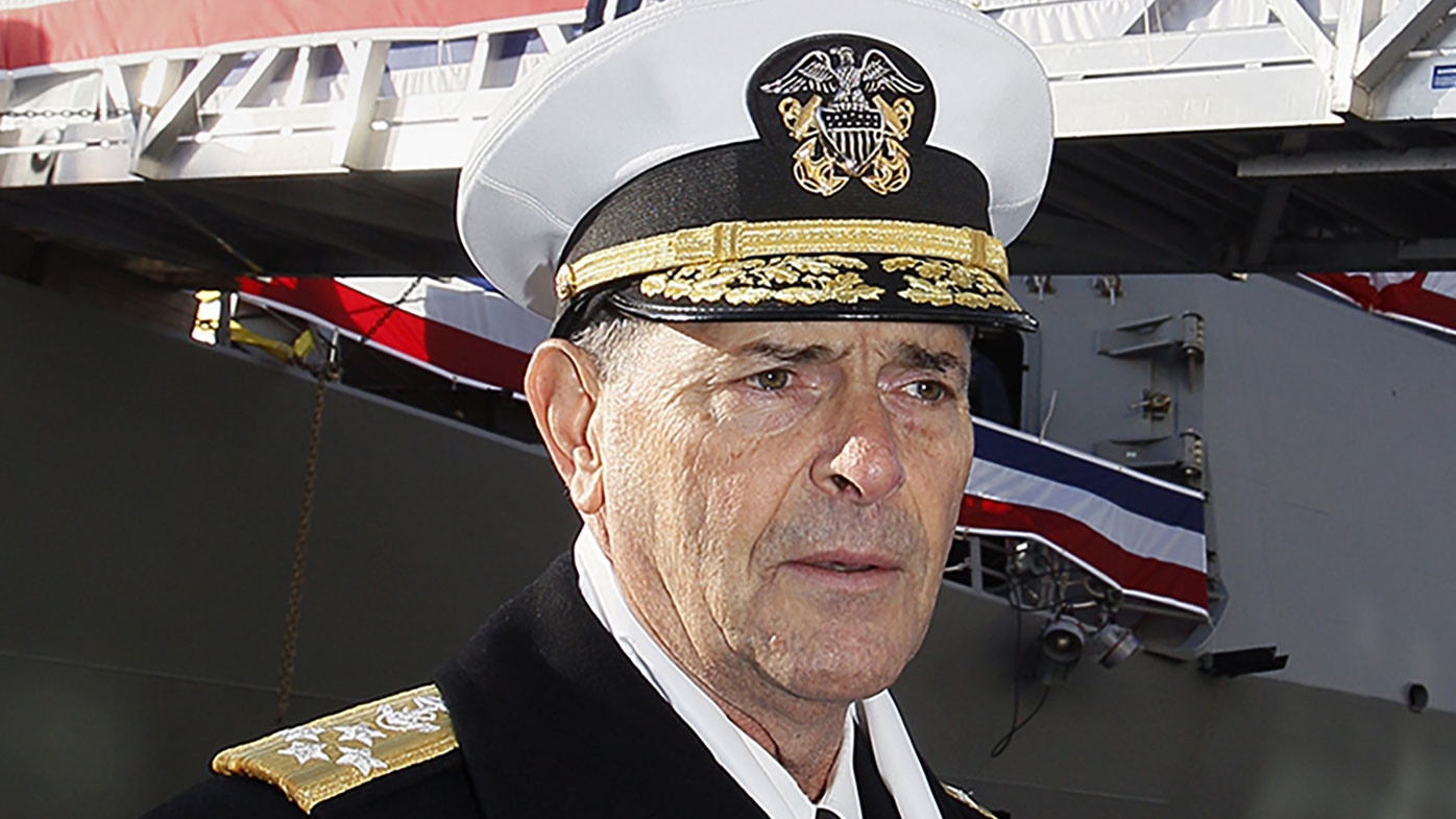 How admiral lost out on running US navy due to 'relationship'