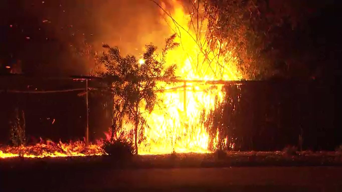 Fears of serial arsonist after fires damage sheds, homes