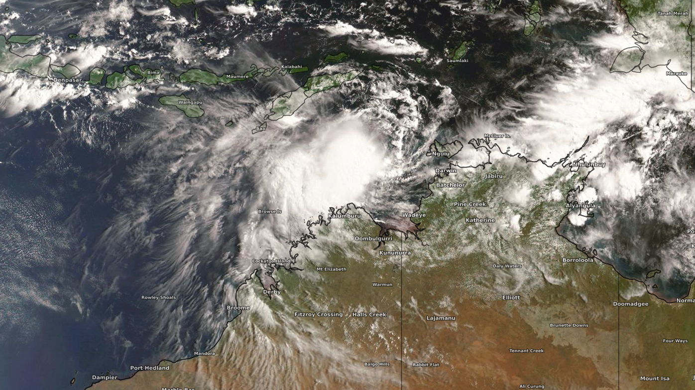 Tropical cyclone likely to form north of Western Australia