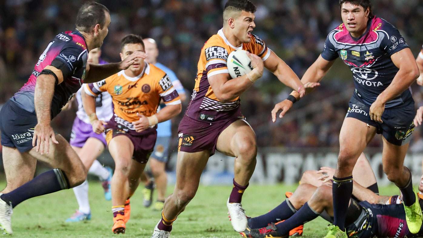 David Fifita breaks away