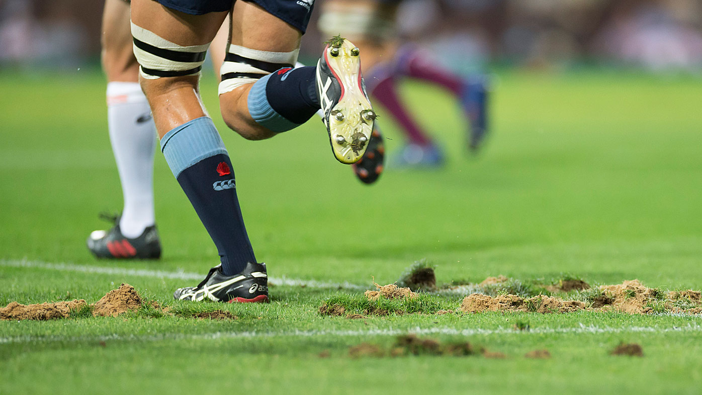 The SCG turf was torn up by the Super Rugby match