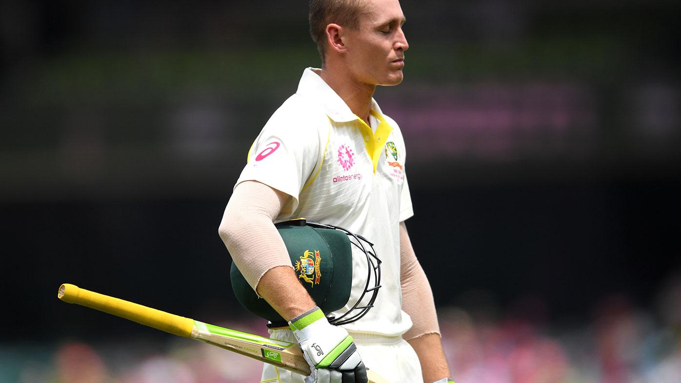 Australian batsman Marnus Labuschagne.