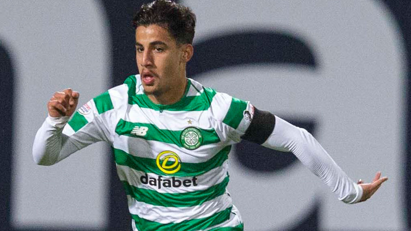 Arzani during his Celtic debut