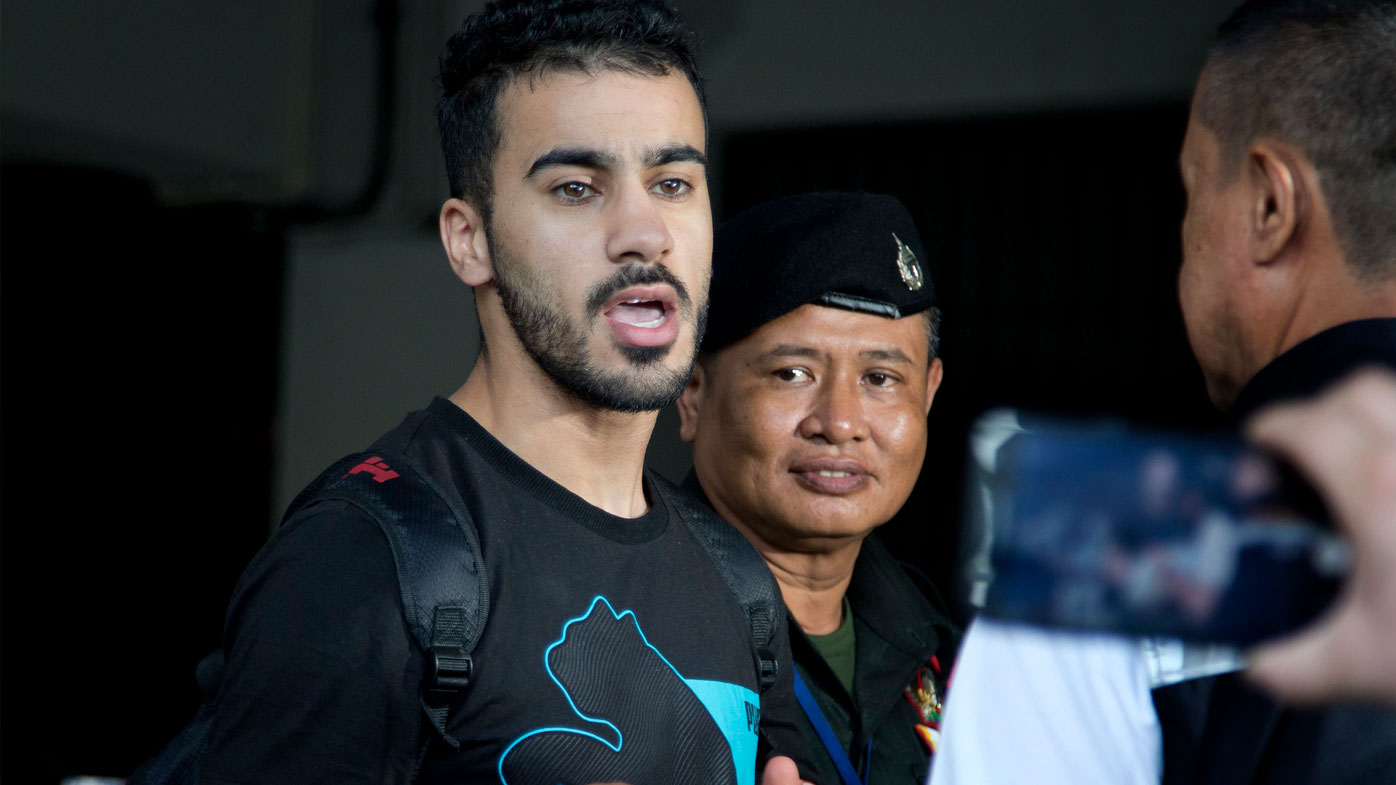 'Don't send me to Bahrain': refugee footballer pleads in Bangkok