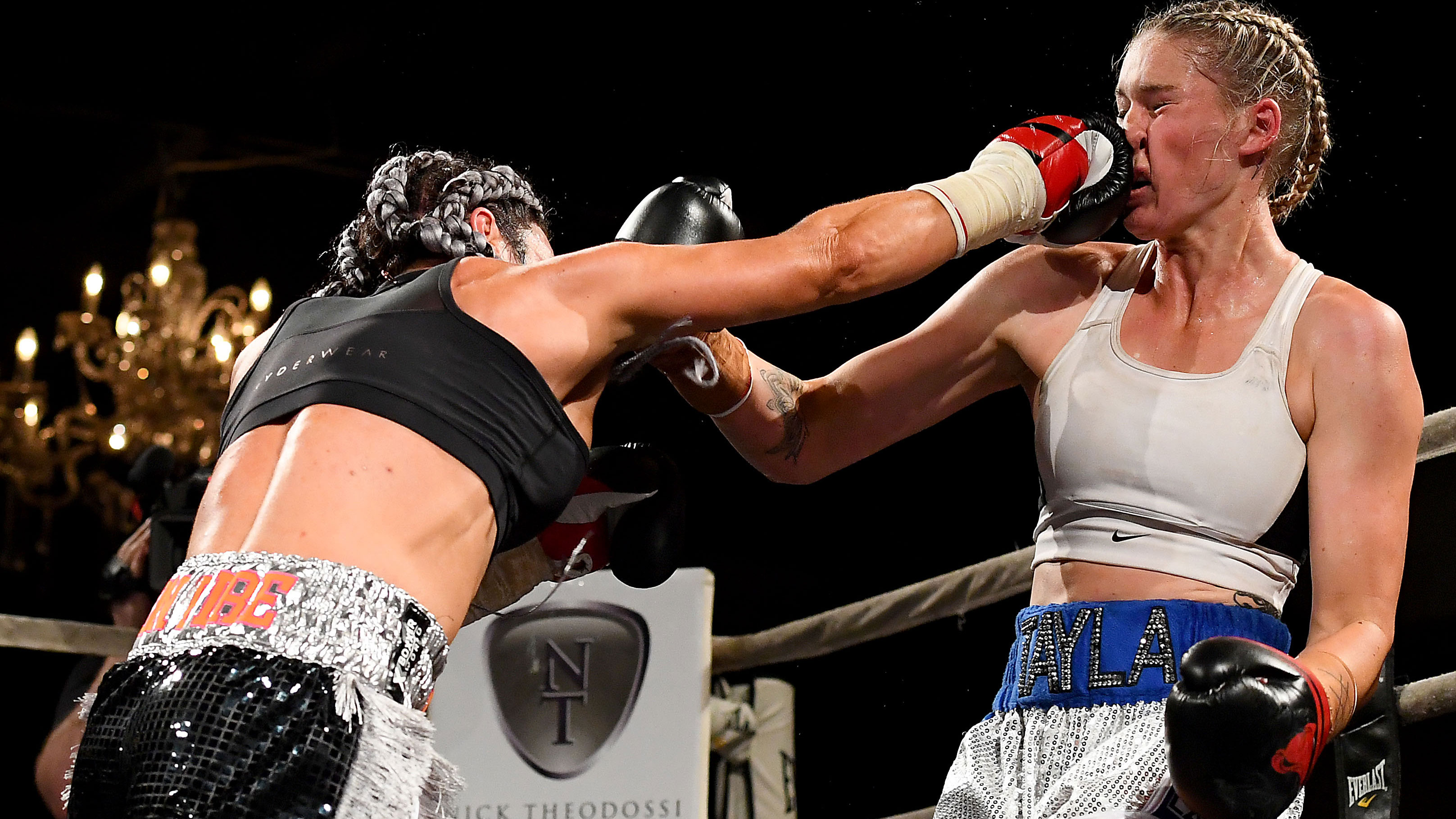 Tayla Harris 'can take a punch'.