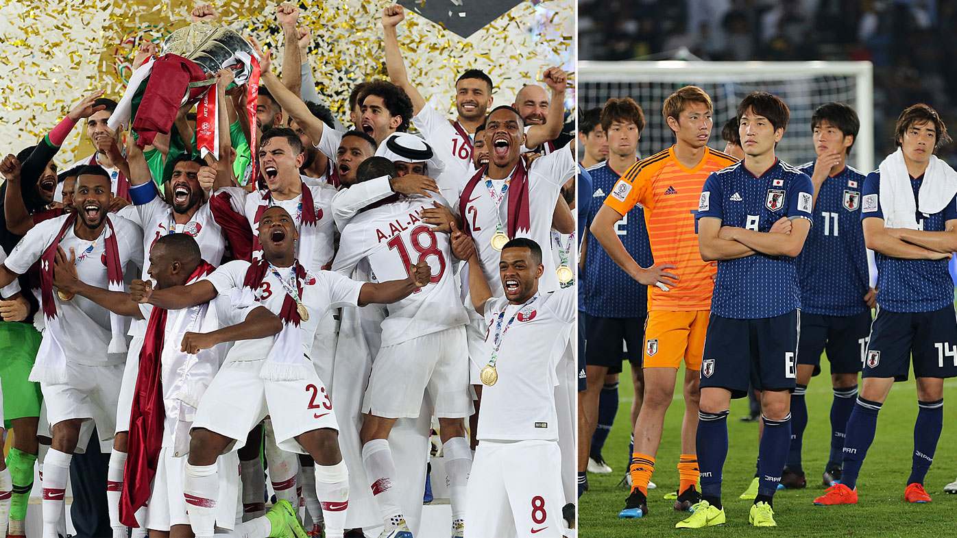Qatar win their first Asian Cup title