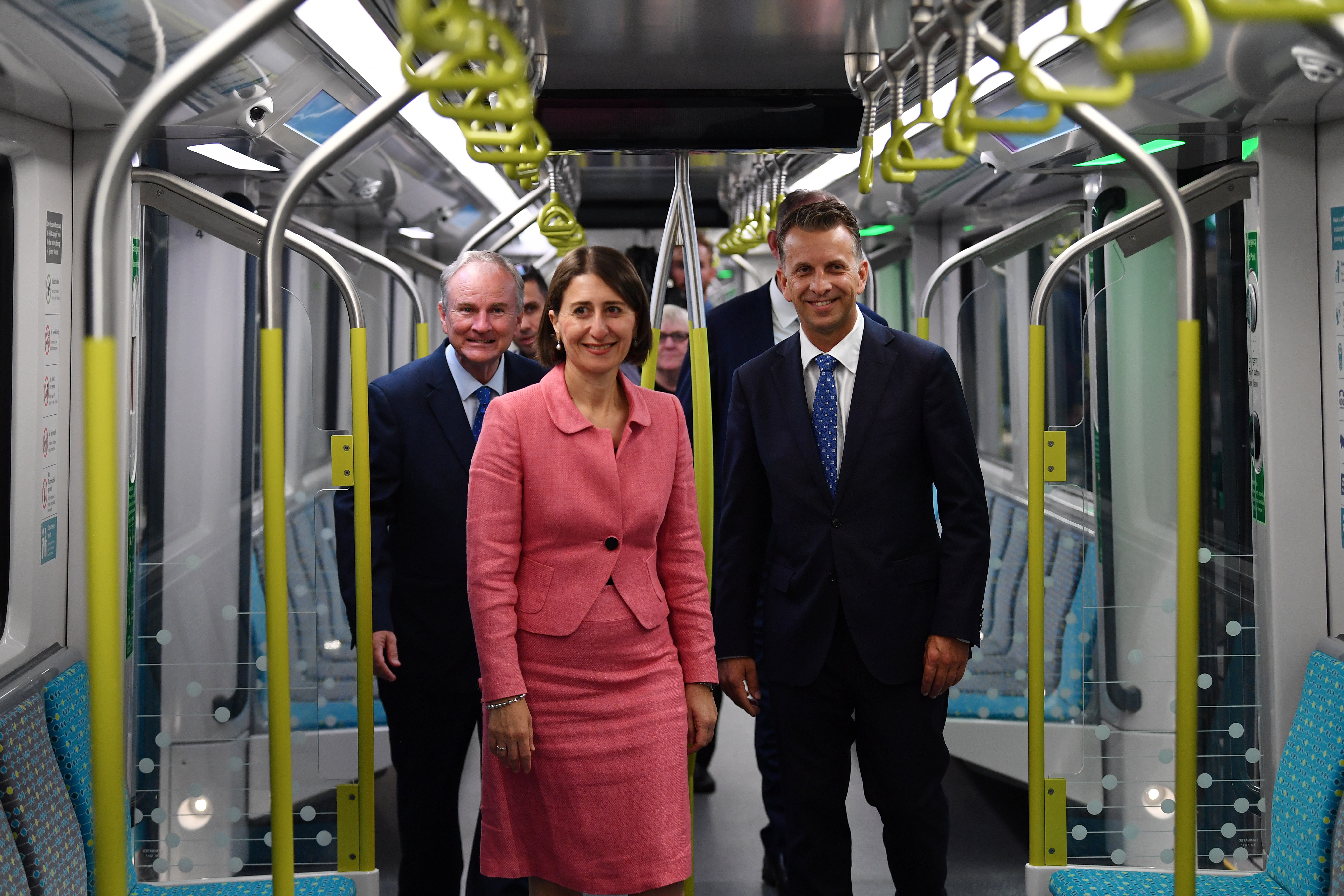 NSW Premier's 'sentimental' voyage on Metro line