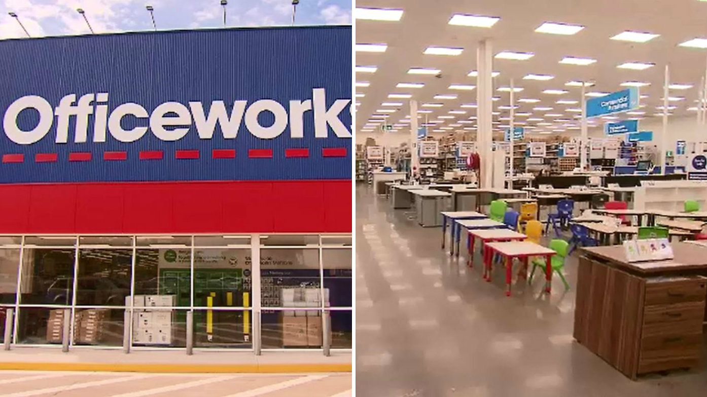 'World's largest Officeworks' opening doors in Melbourne