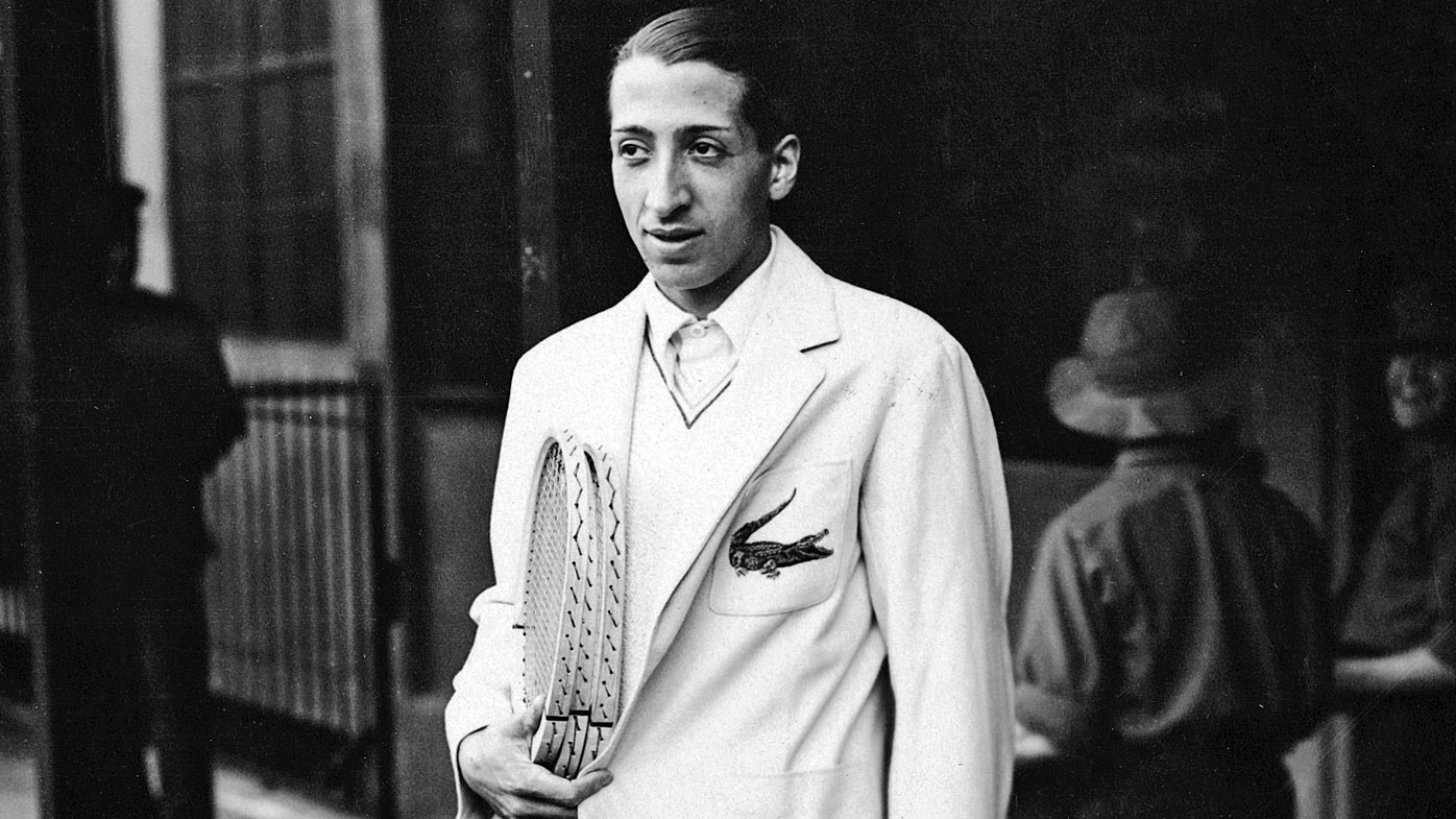 Lacoste, one of France's 'Four Musketeers'