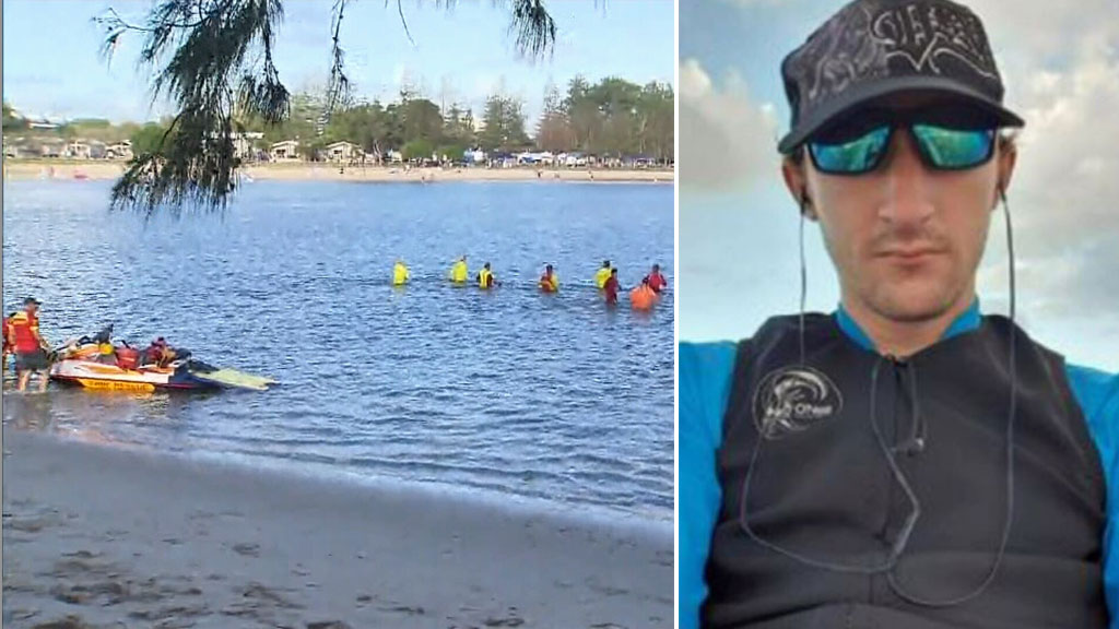 Desperate search for missing kayaker on Gold Coast - 9news.com.au image