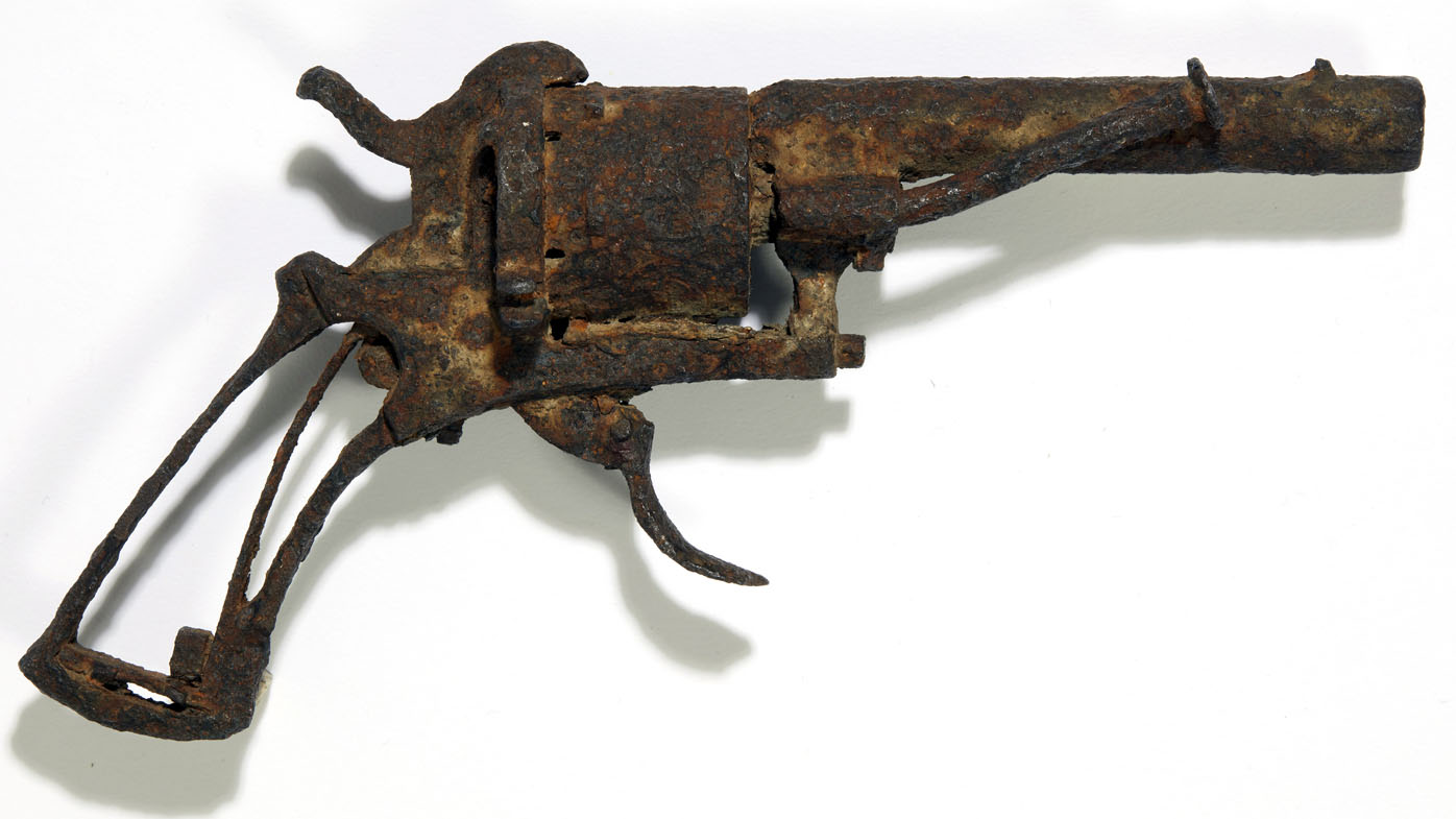 The revolver it's believed was used by Dutch painter Vincent van Gogh to take his own life is being auctioned.