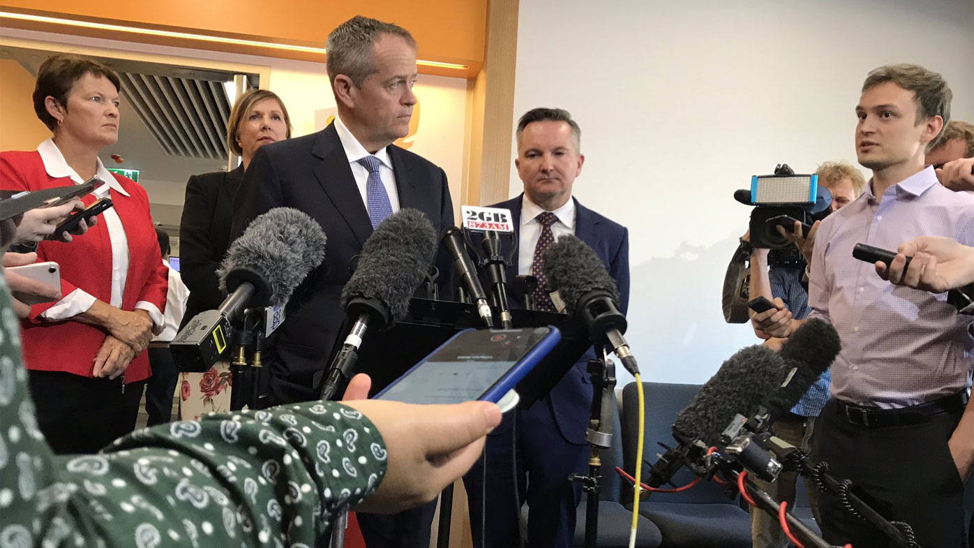 Bill Shorten grilled on superannuation in testy Perth press conference