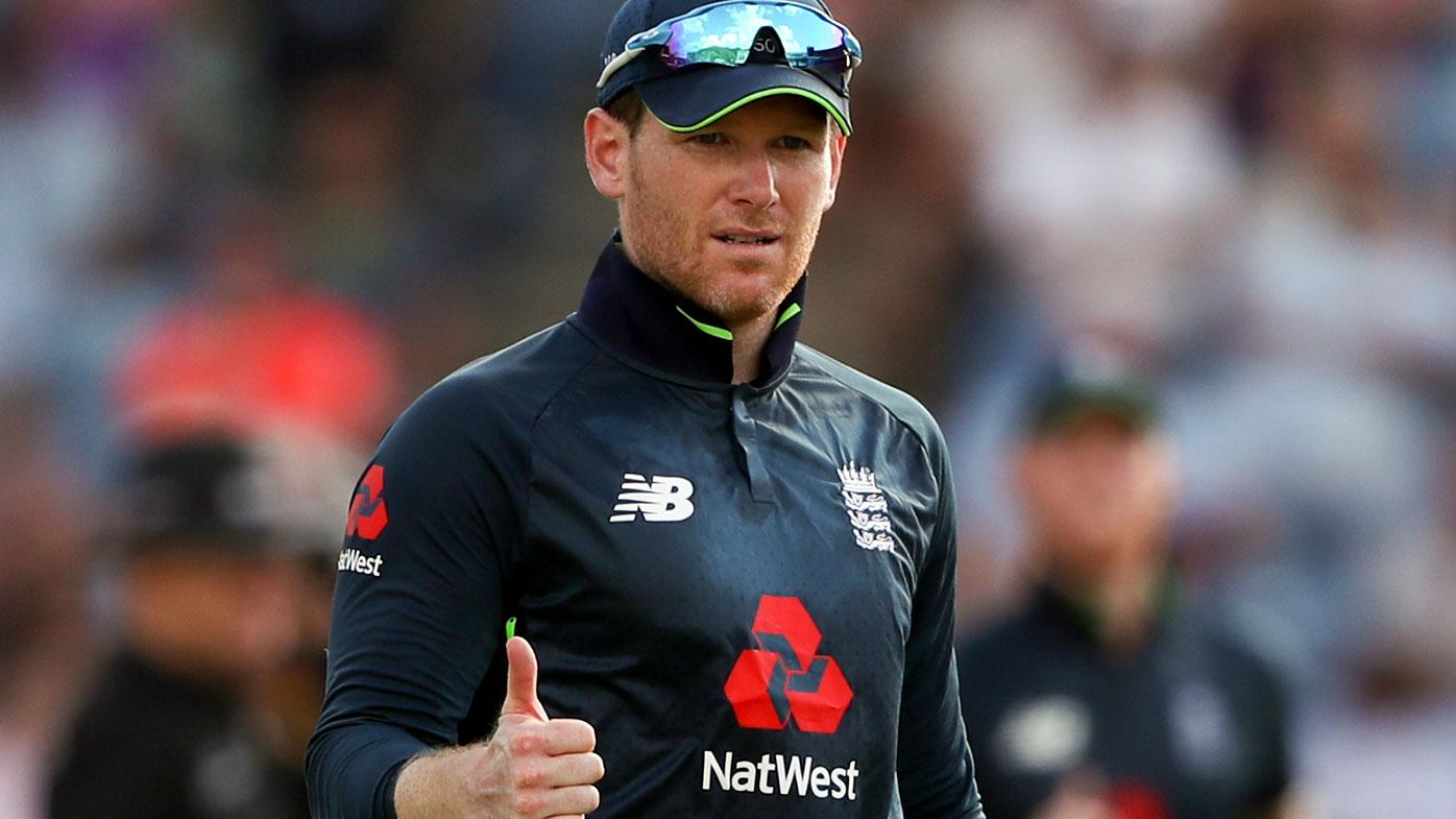 England captain Eoin Morgan