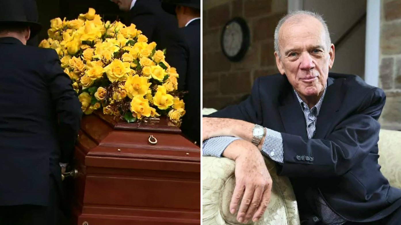 Family, friends, TV greats say goodbye to 'leading light' Mike Willesee