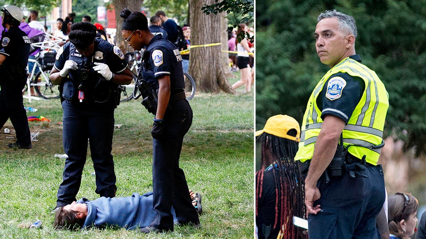 Mass panic after man pulls gun at US LGBTQ parade