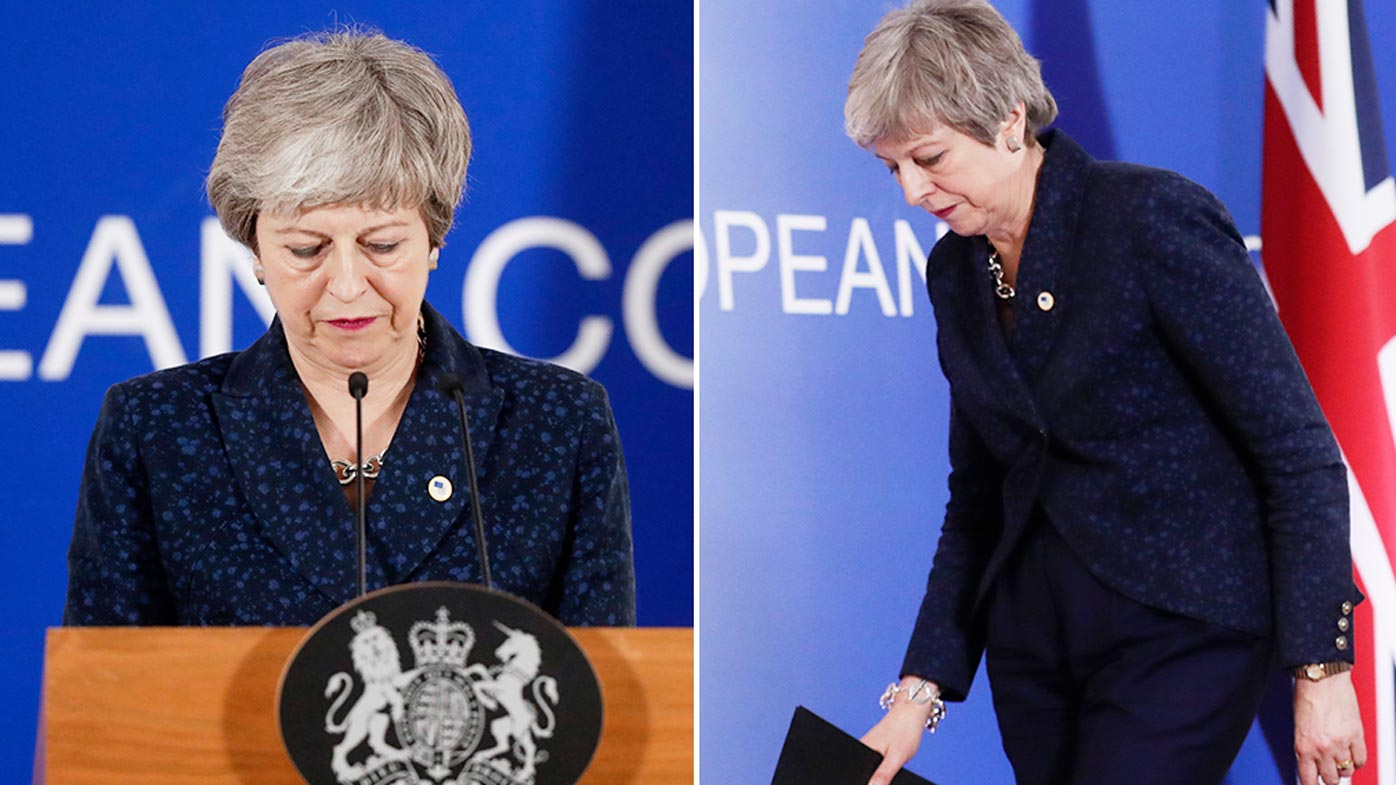 UK PM May pressured to step down to save Brexit