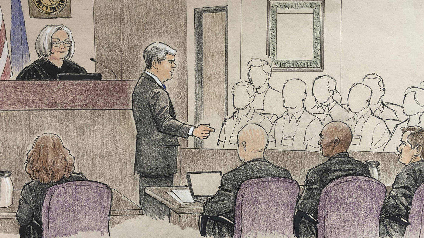 Distressing crime scene photos shown in Justine Ruszczyk trial