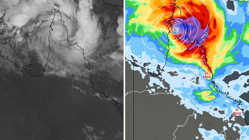 Cyclone Trevor dumps flooding rain on Far North Queensland