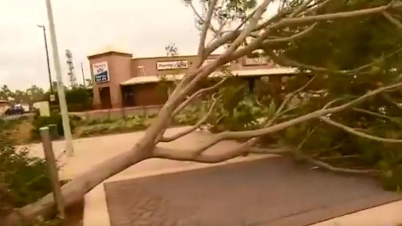 Cyclone Veronica weakening off WA coast