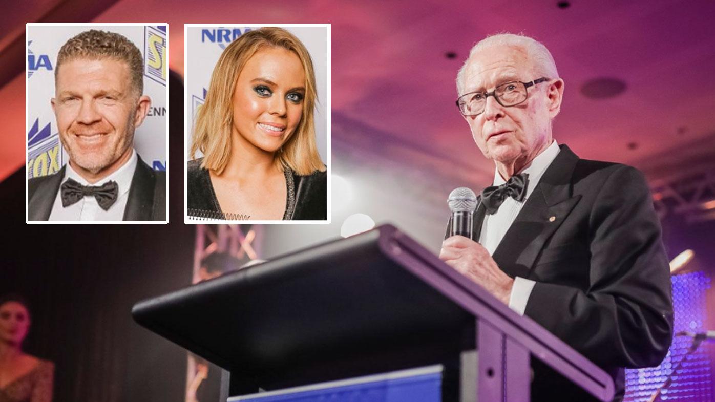 Legendary newsreader Brian Henderson honoured at Kennedy