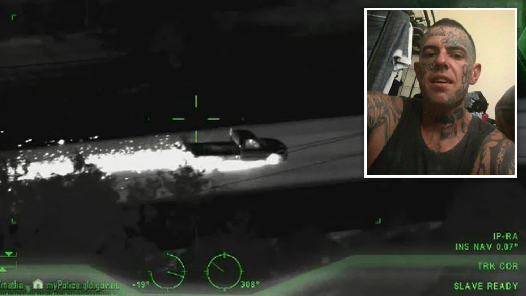 Queensland news: Man jailed over dangerous police chase while on
