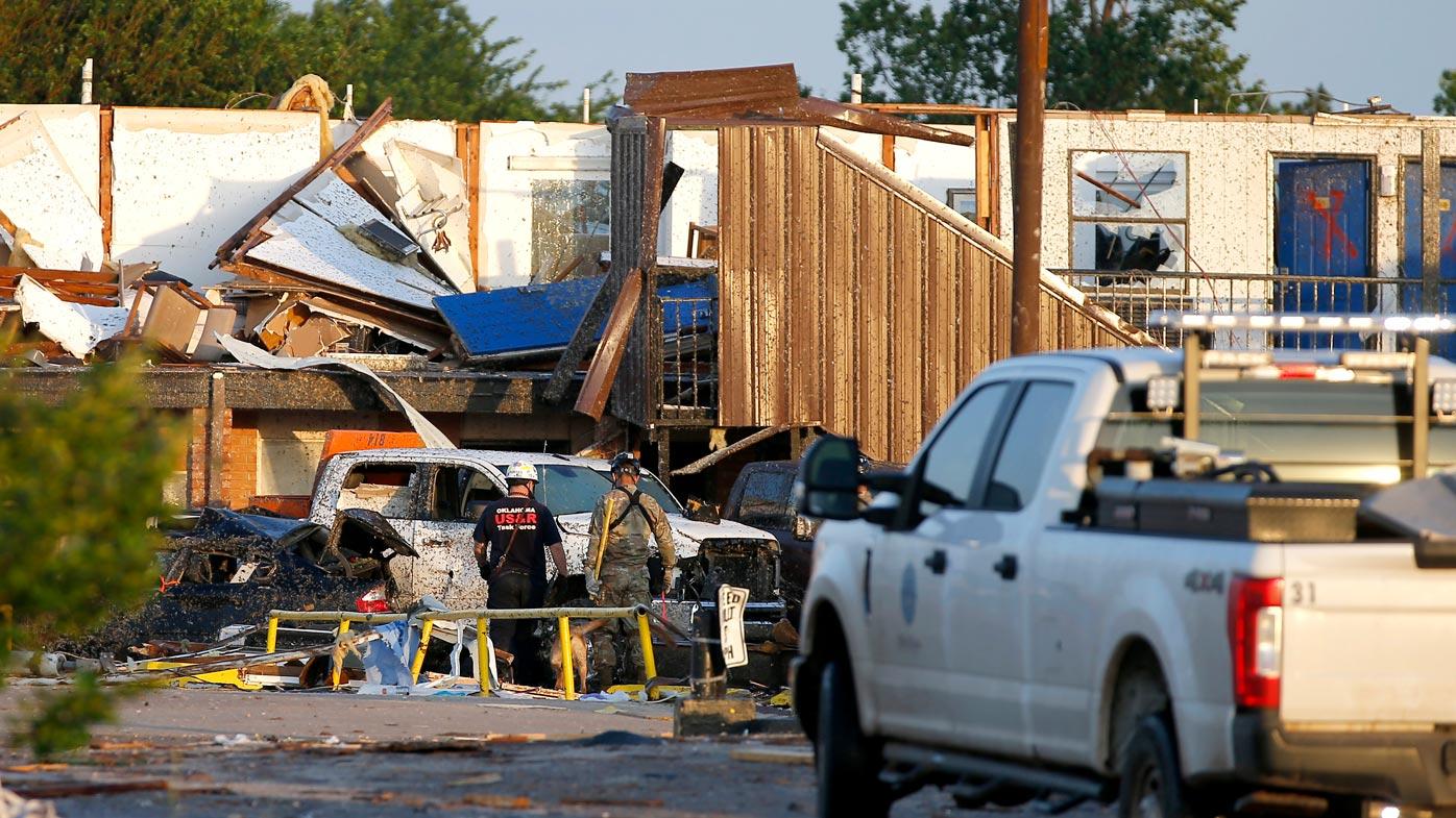 Scores injured after tornado tears through US caravan park