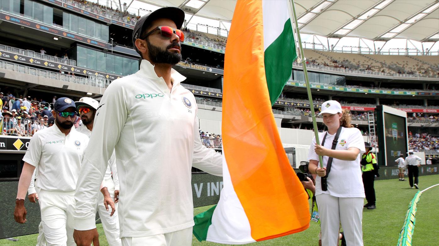 India led by Virat Kohli