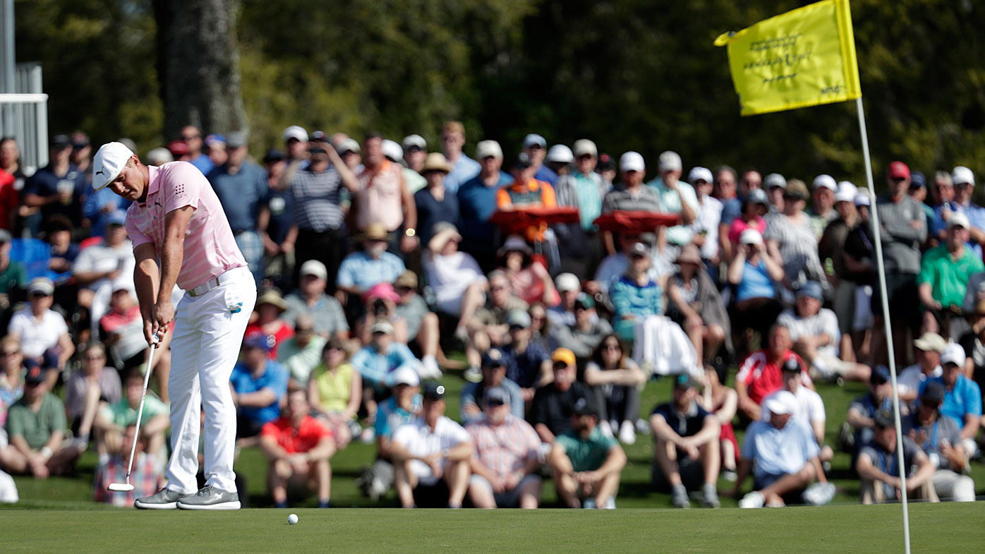 Wardrobe choice: Woods ready to rock a mock again at Augusta