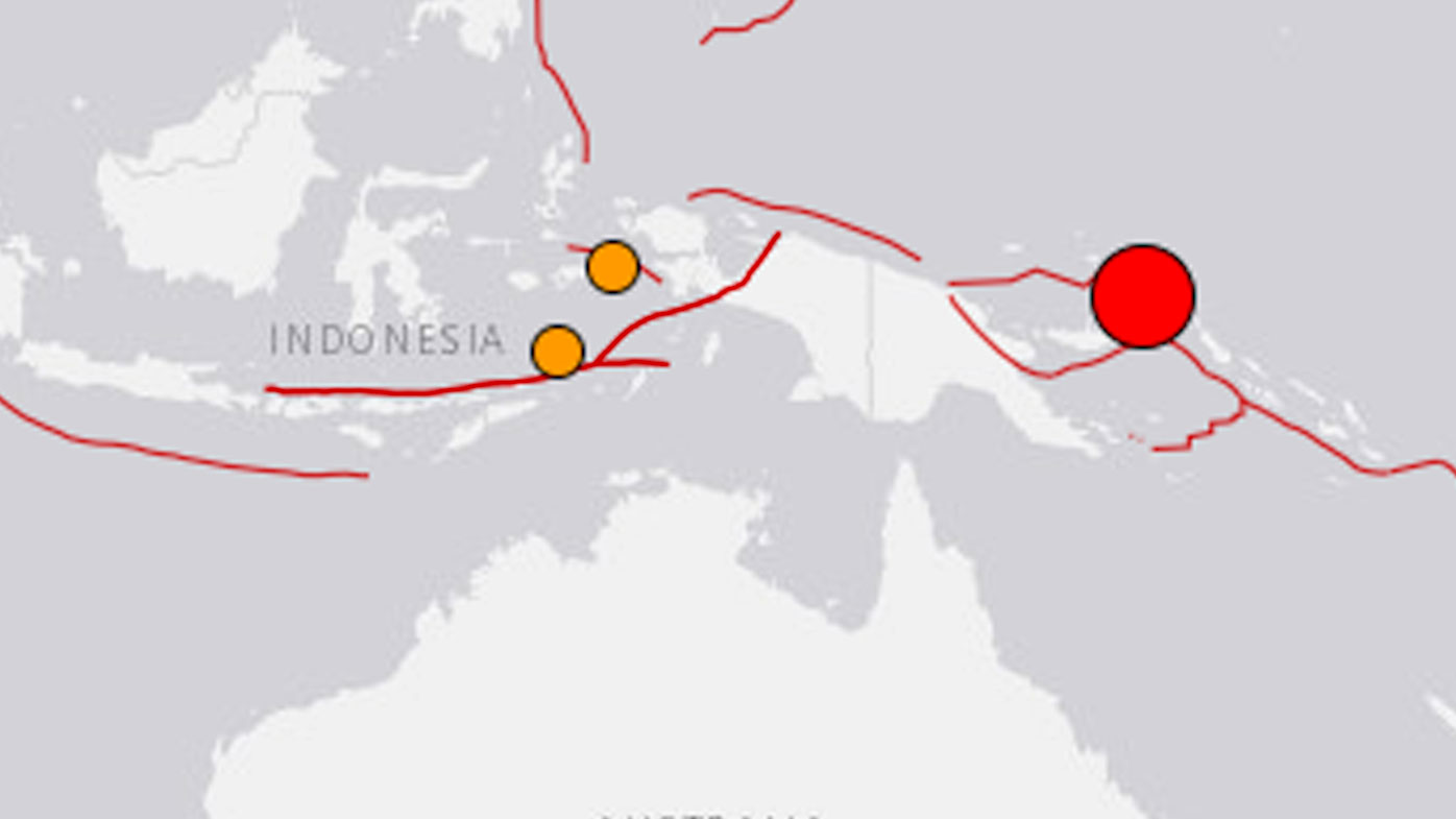 Powerful quake hits Papua New Guinea, tsunami alert issued