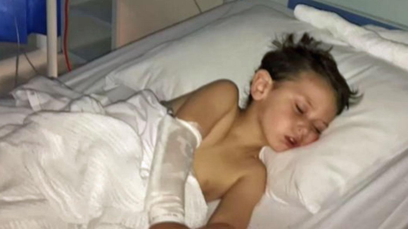 Toddler battling meningococcal after misdiagnosis