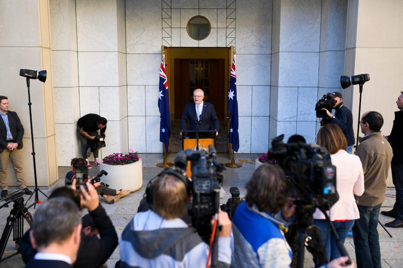 Prime Minister Scott Morrison unveils new ministry