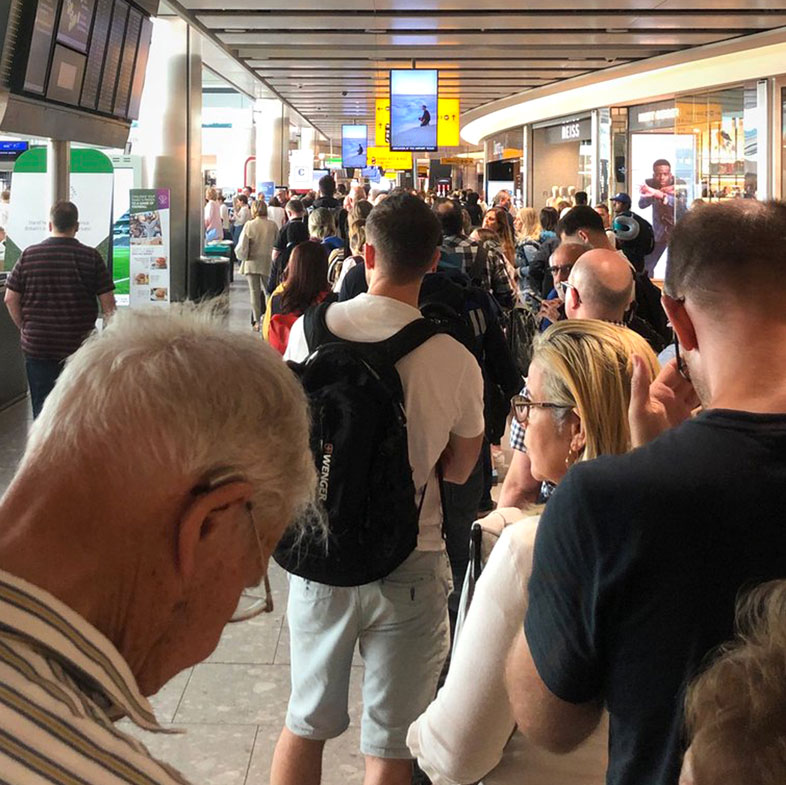 Chaos at London's airports as British Airways cancels flights