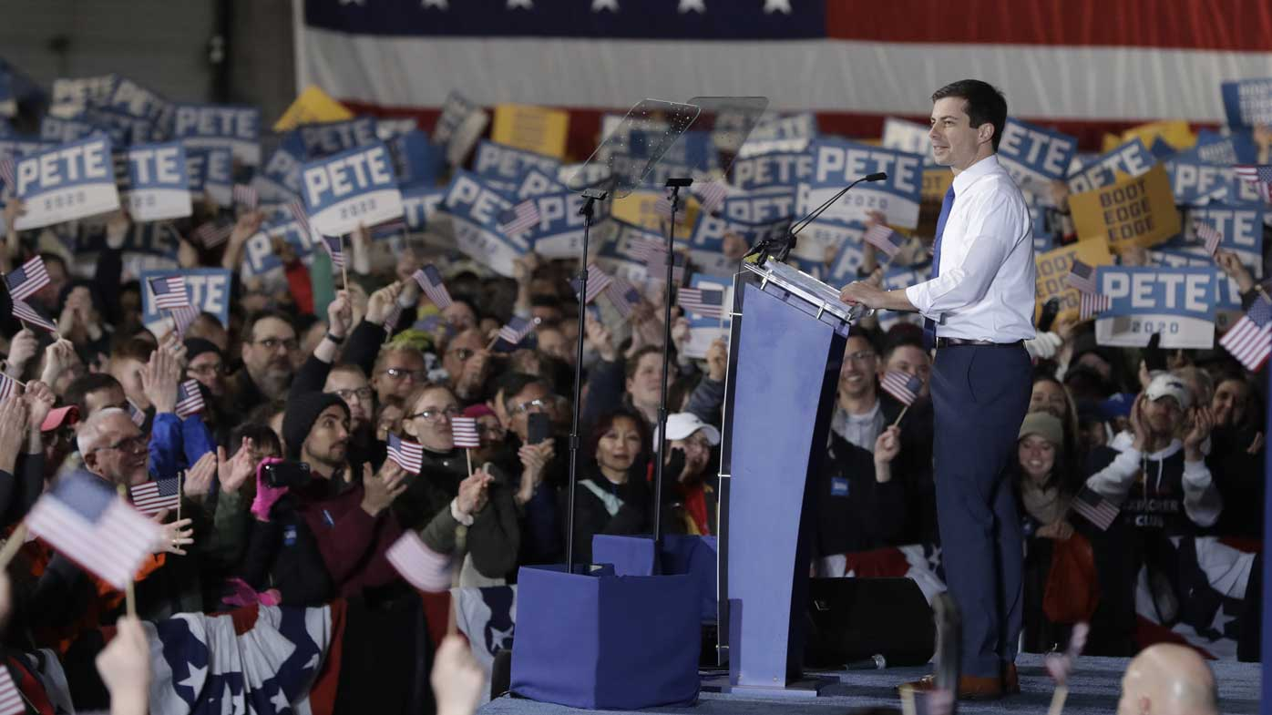 Pete Buttigieg, the 37-year-old gay Afghanistan veteran who may be the Democrats' best hope