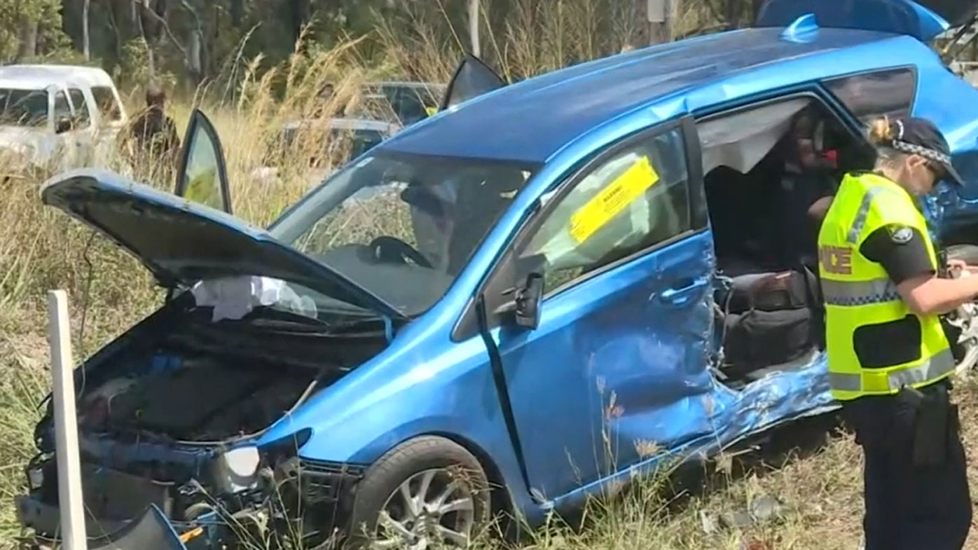 Girl, nine, killed in car crash near Rockhampton