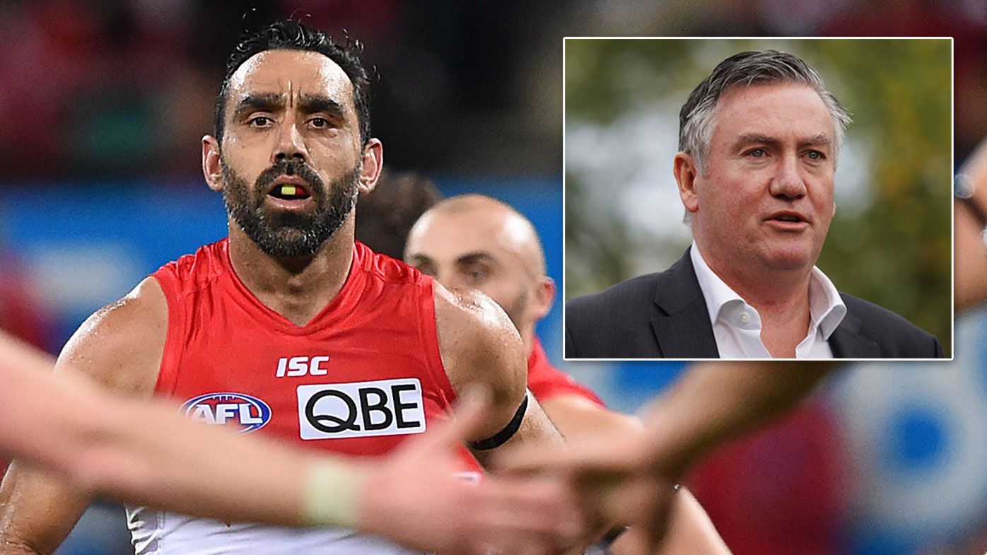 Adam Goodes was targeted by racist vilification and booing